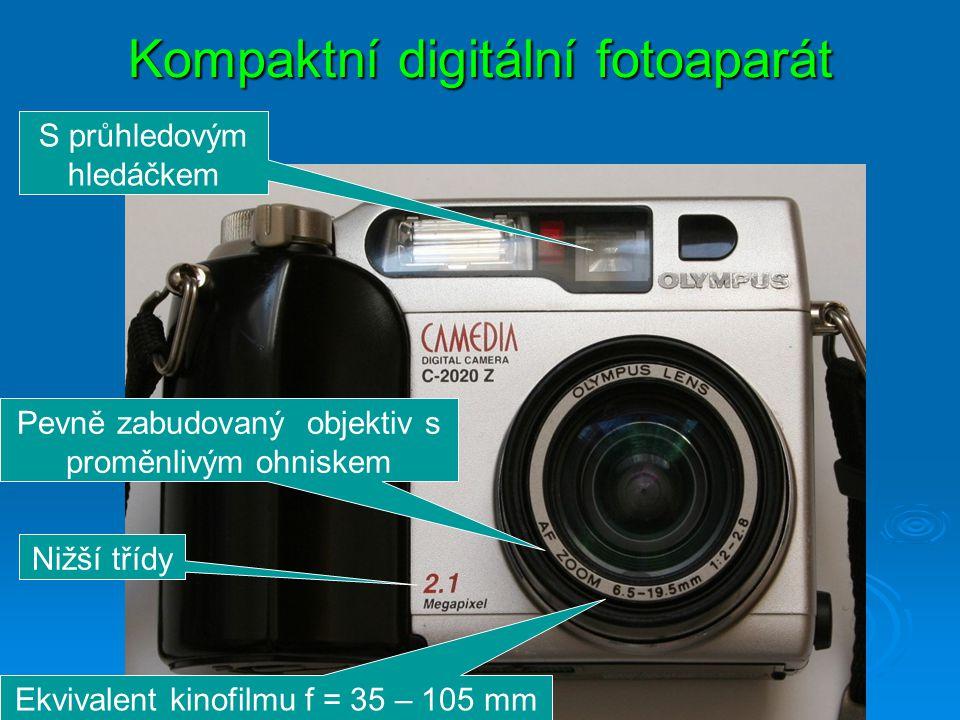 Kompaktní digitální fotoaparát