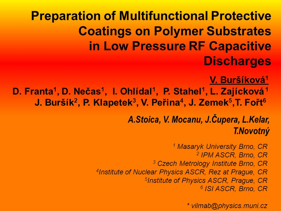 Preparation of Multifunctional Protective