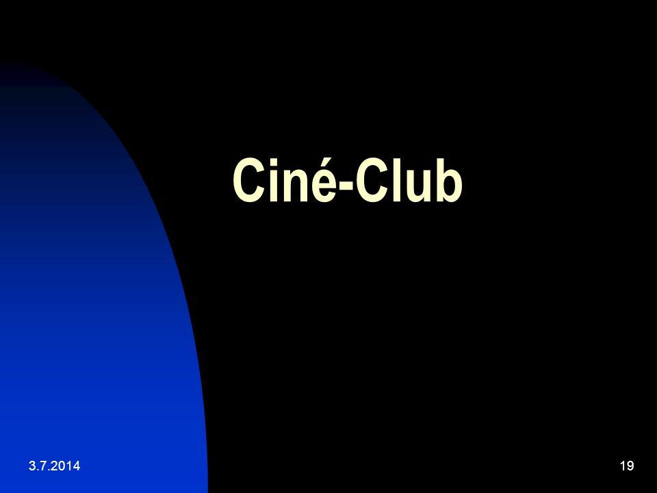Ciné-Club 3.4.2017