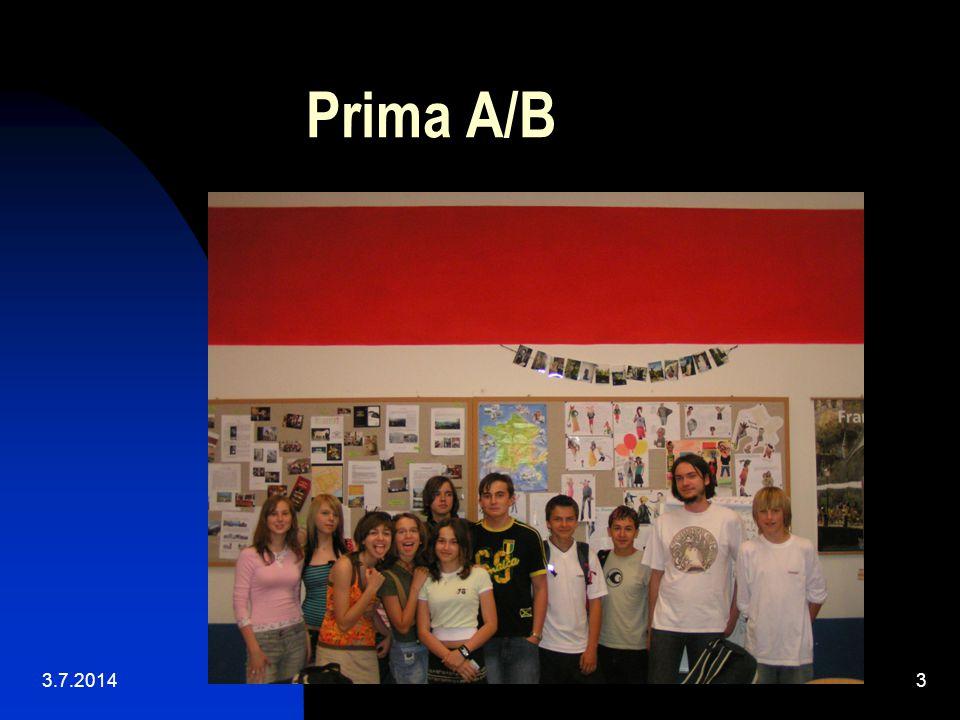 Prima A/B 3.4.2017