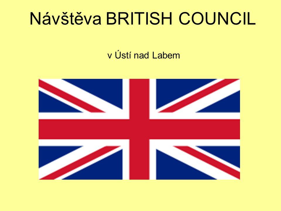 Návštěva BRITISH COUNCIL