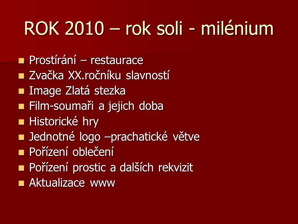 ROK 2010 – rok soli - milénium