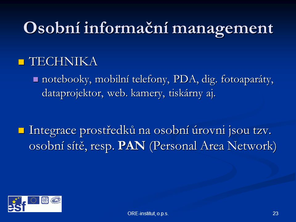 Osobní informační management