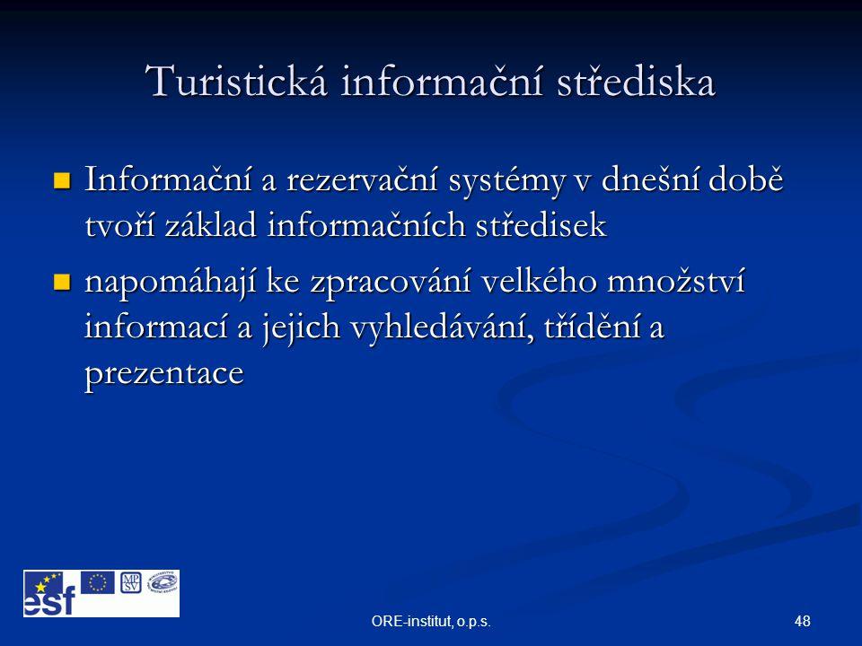 Turistická informační střediska