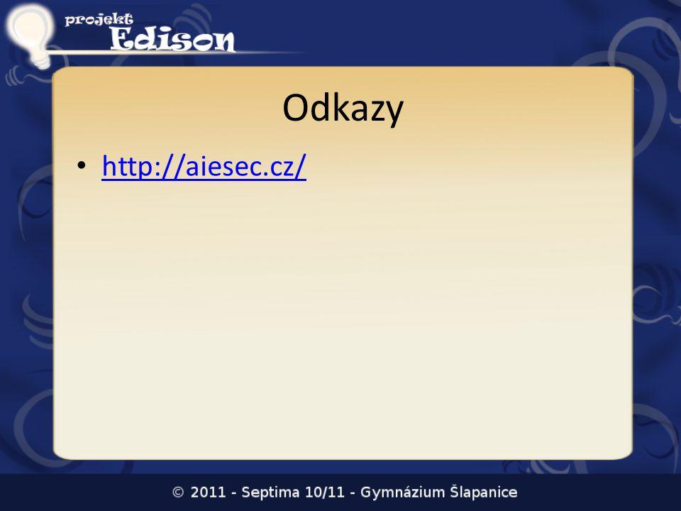 Odkazy http://aiesec.cz/