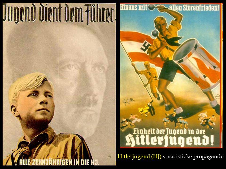 Hitlerjugend (HJ) v nacistické propagandě