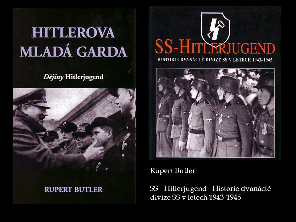 Rupert Butler SS - Hitlerjugend - Historie dvanácté divize SS v letech 1943-1945