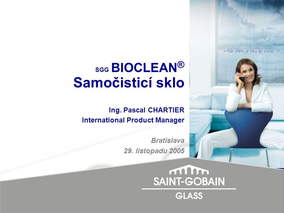 SGG BIOCLEAN® Samočisticí sklo