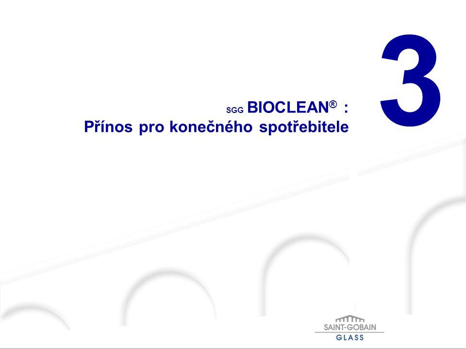 SGG BIOCLEAN® : Přínos pro konečného spotřebitele
