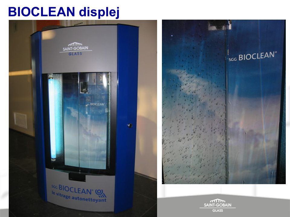 BIOCLEAN displej