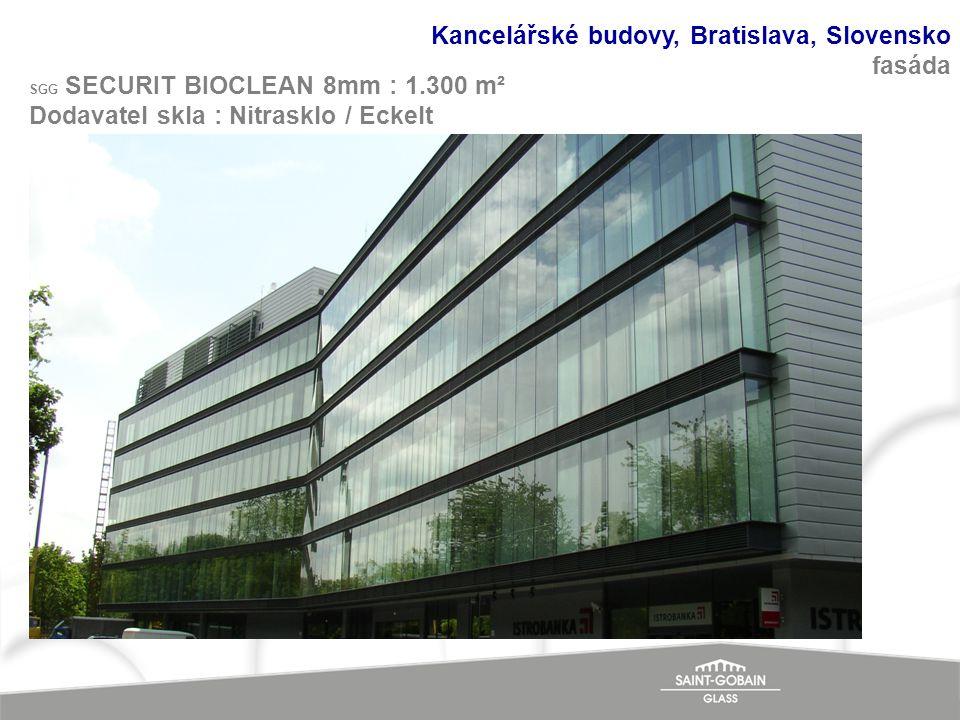Kancelářské budovy, Bratislava, Slovensko fasáda