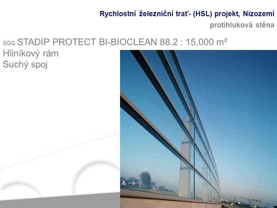 Rychlostní železniční trať- (HSL) projekt, Nizozemí protihluková stěna