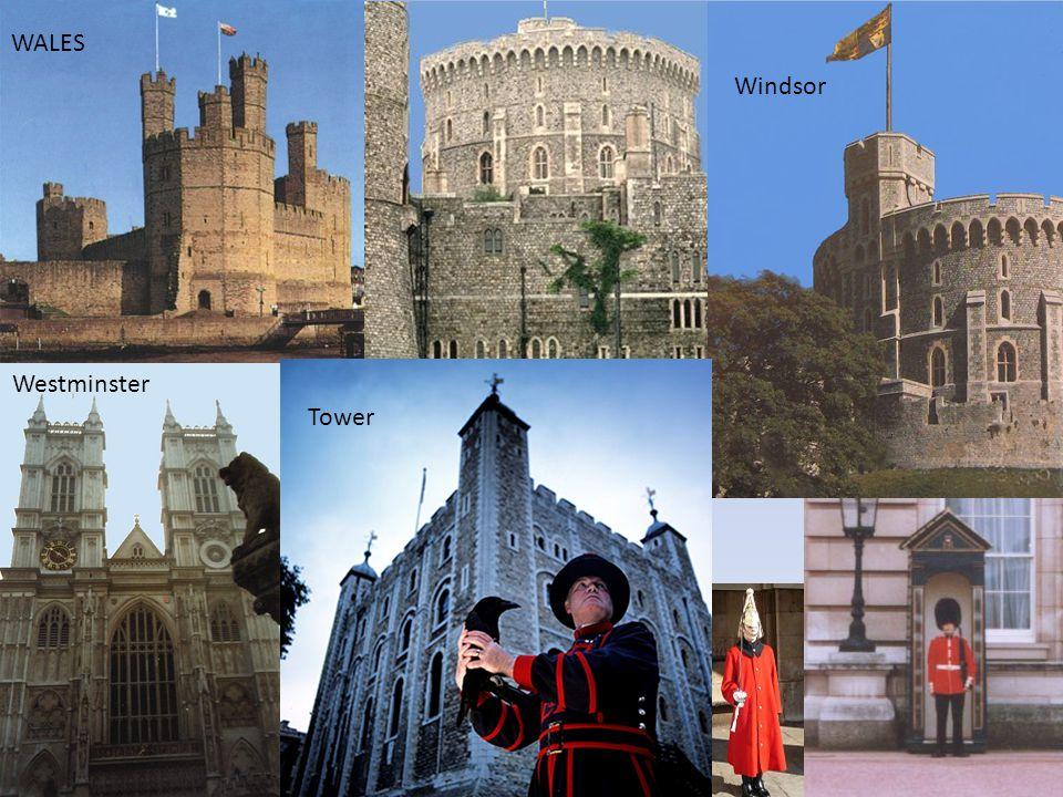 WALES Windsor Westminster Tower TOWER