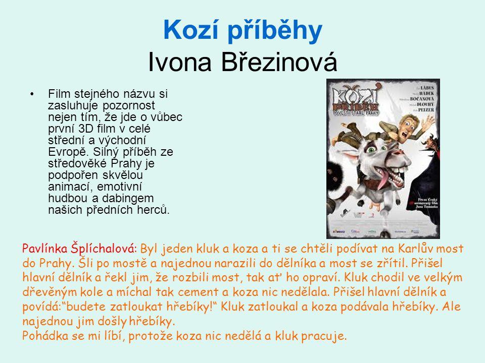 Kozí příběhy Ivona Březinová
