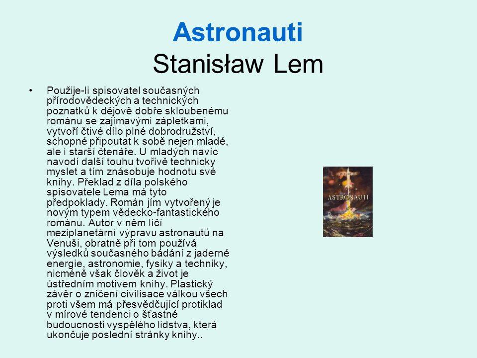 Astronauti Stanisław Lem