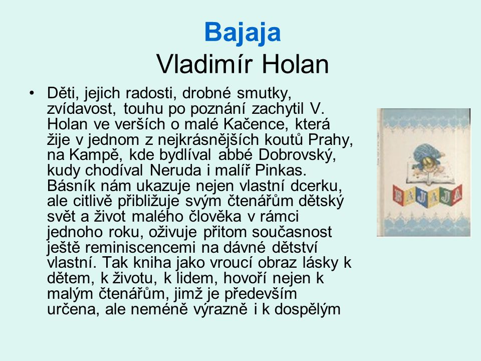 Bajaja Vladimír Holan