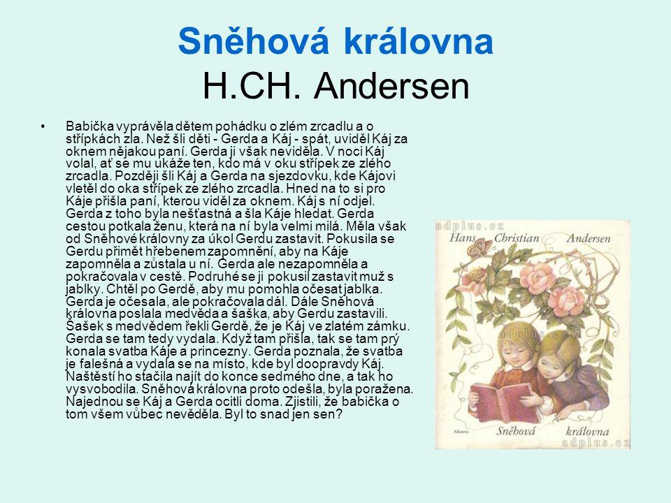 Sněhová královna H.CH. Andersen