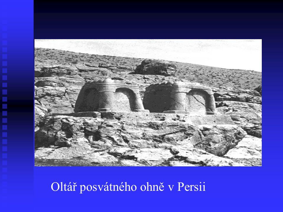 Oltář posvátného ohně v Persii