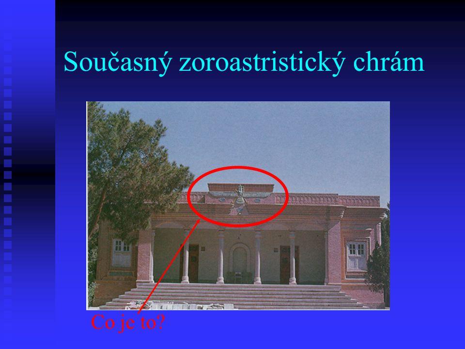 Současný zoroastristický chrám