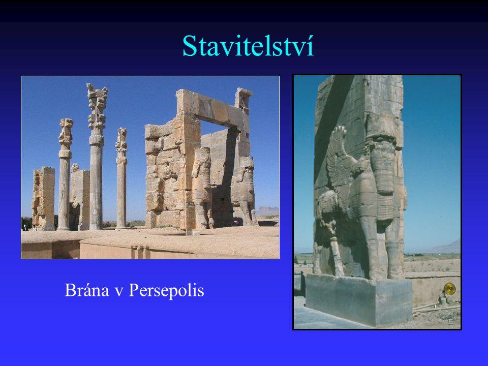 Stavitelství Brána v Persepolis