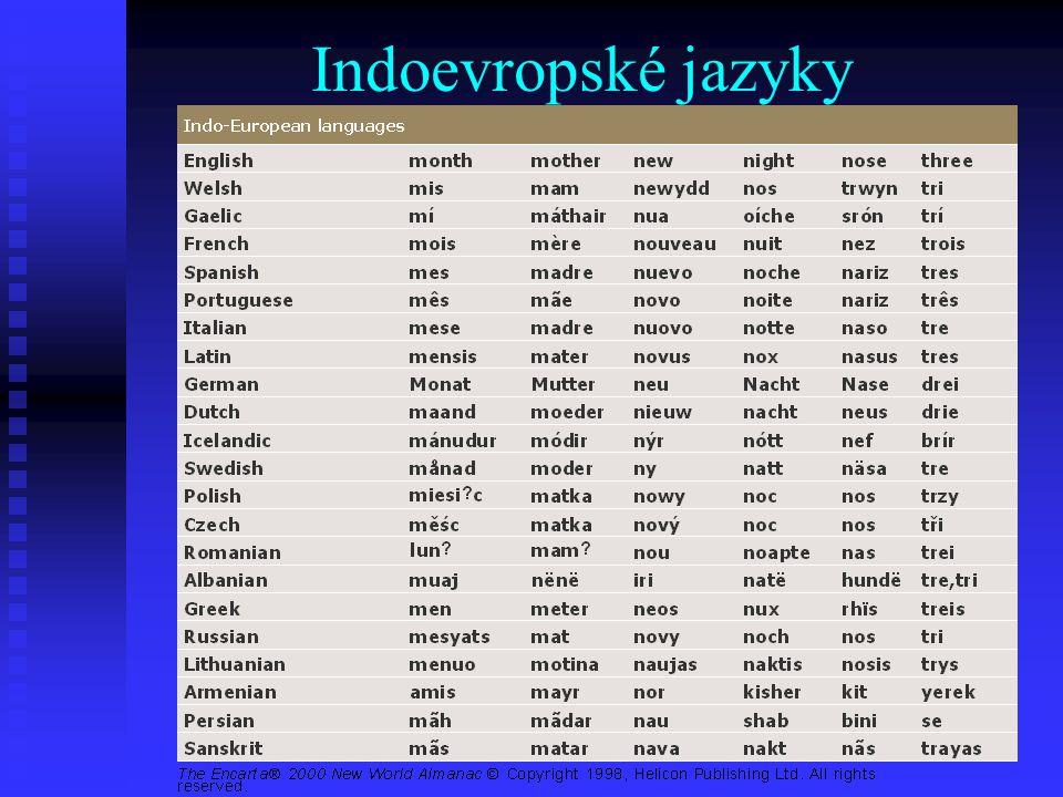 Indoevropské jazyky
