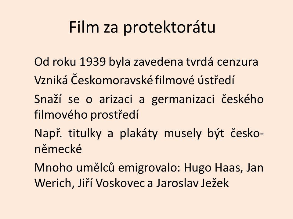 Film za protektorátu