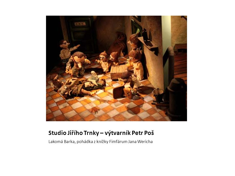 Studio Jiřího Trnky – výtvarník Petr Poš