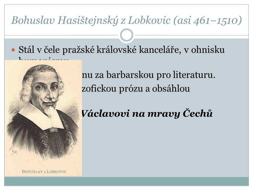 Bohuslav Hasištejnský z Lobkovic (asi 461−1510)