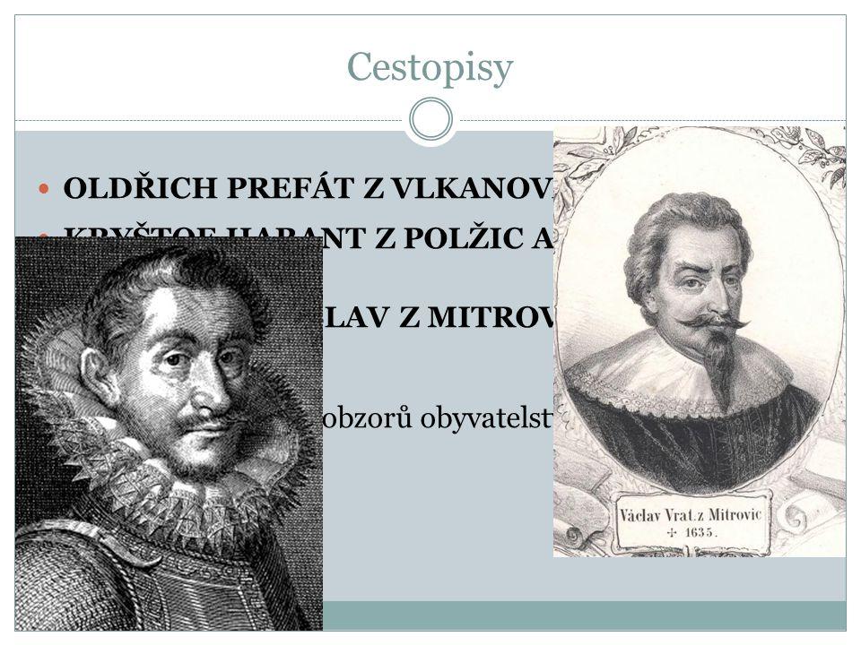 Cestopisy OLDŘICH PREFÁT Z VLKANOVA (1532−1565)