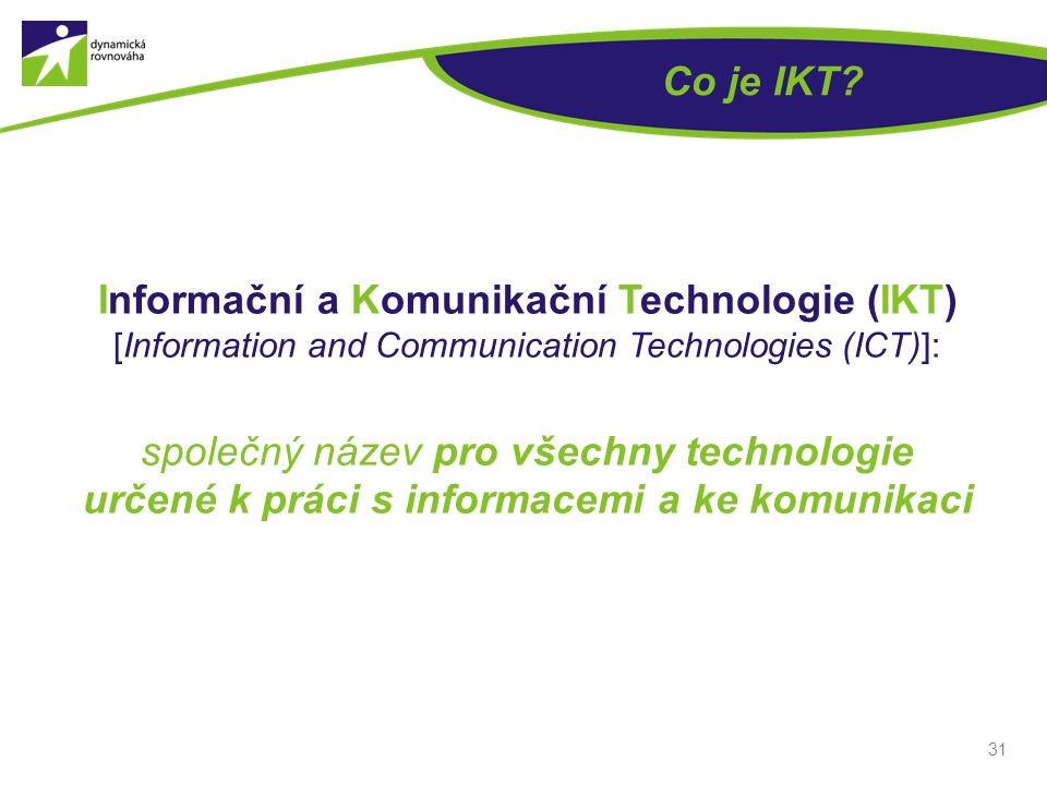 Co je IKT
