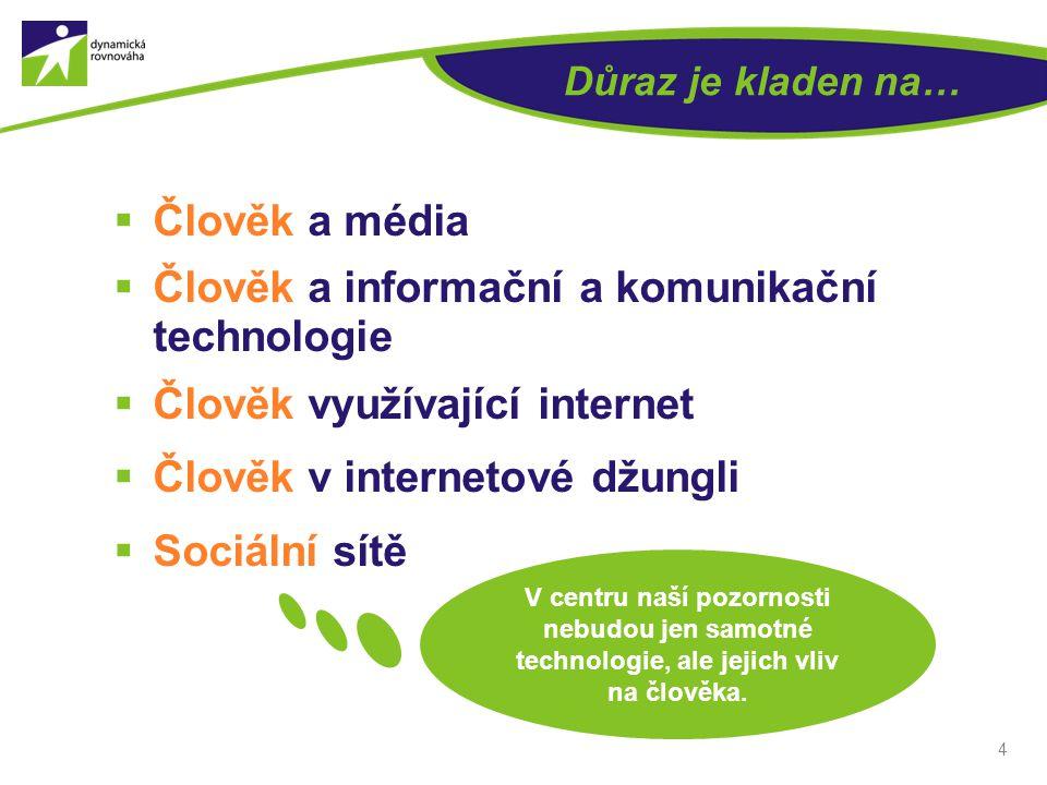 Člověk a informační a komunikační technologie