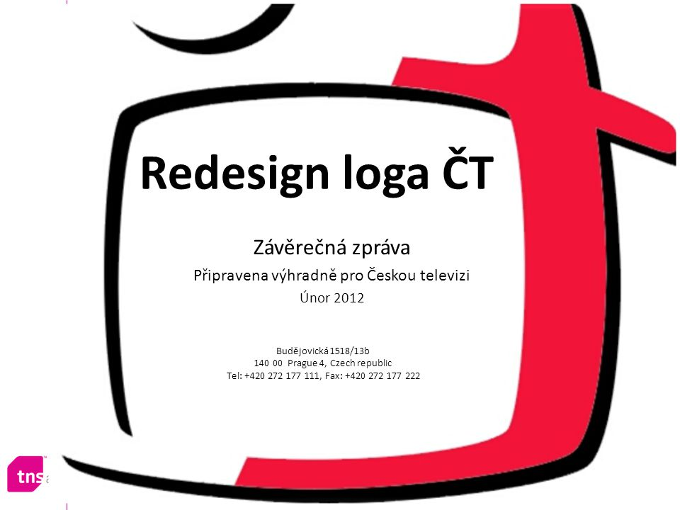 Připravena výhradně pro Českou televizi