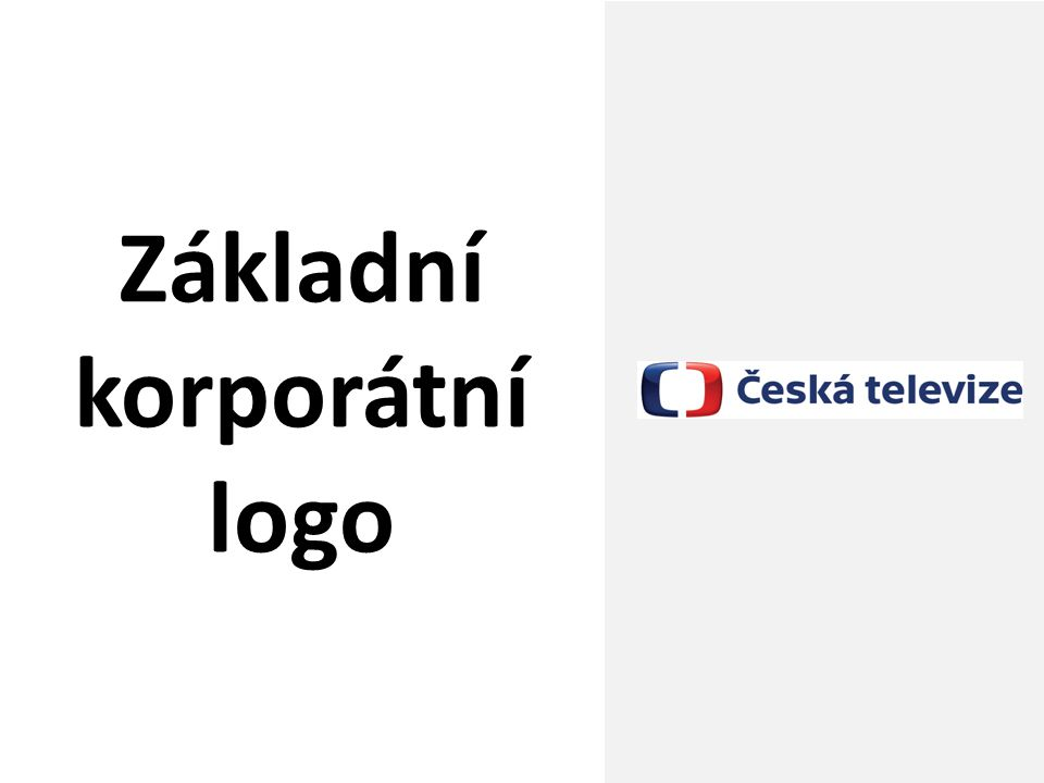 Základní korporátní logo