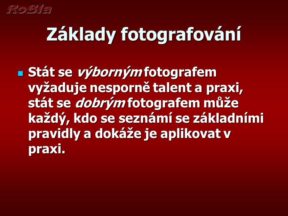 Základy fotografování