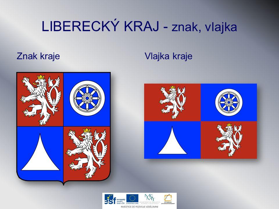 LIBERECKÝ KRAJ - znak, vlajka