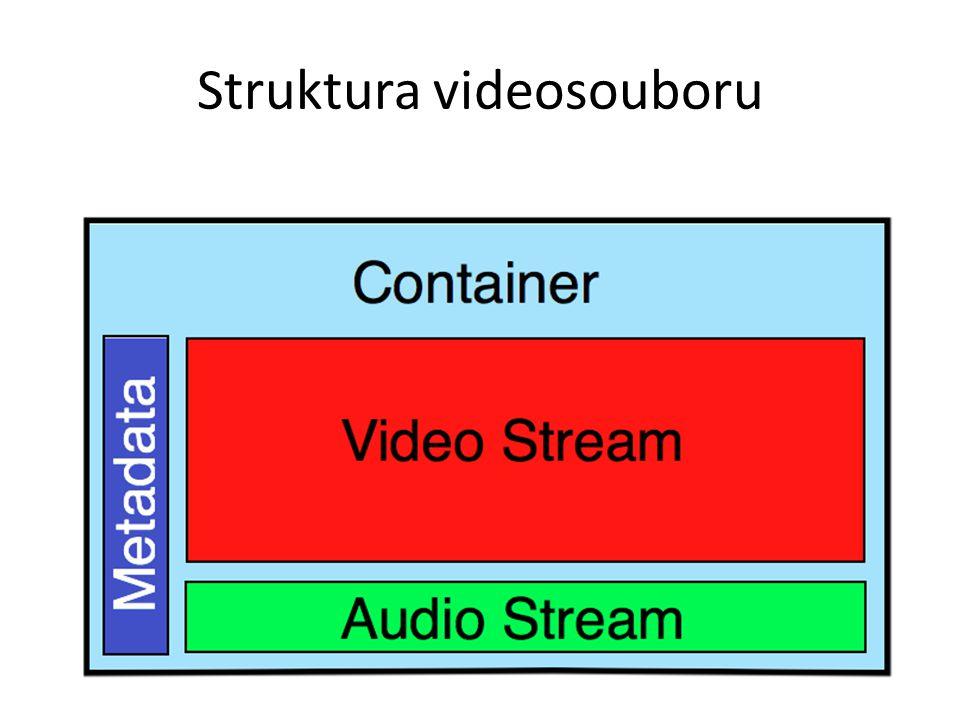 Struktura videosouboru