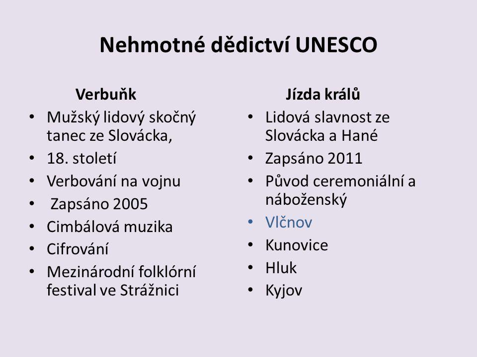 Nehmotné dědictví UNESCO