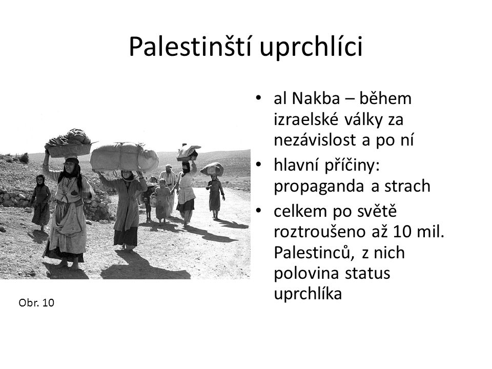 Palestinští uprchlíci
