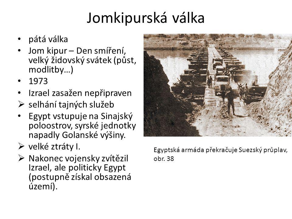 Jomkipurská válka pátá válka