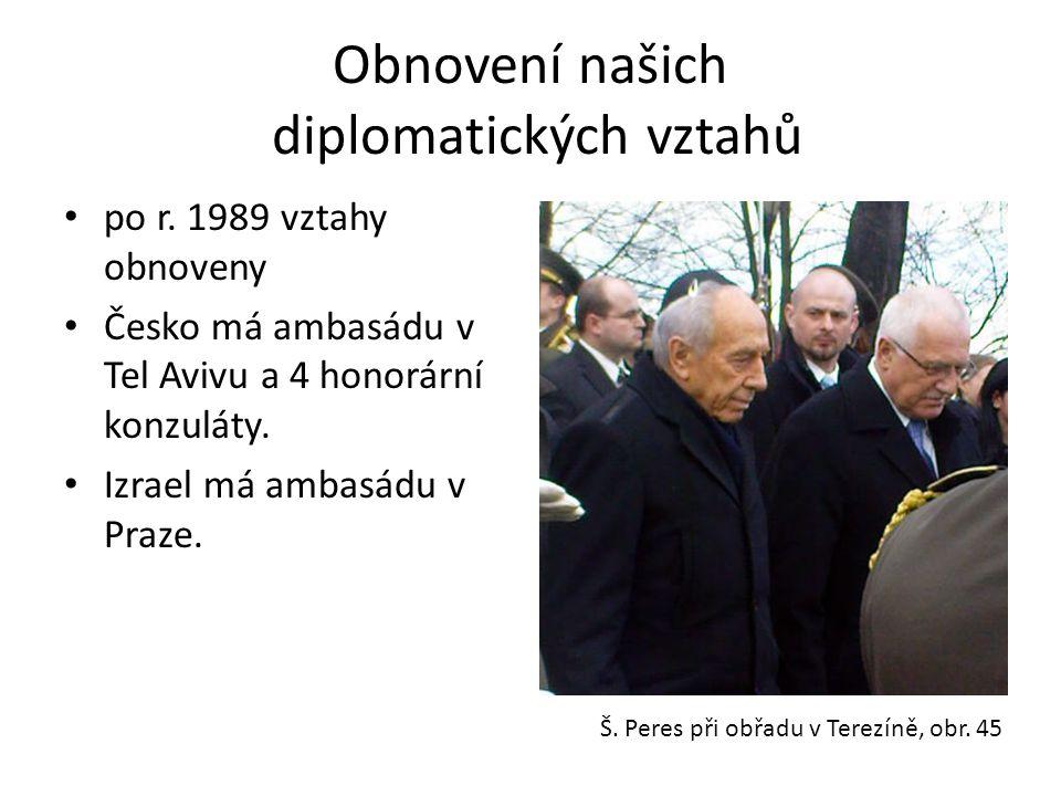 Obnovení našich diplomatických vztahů