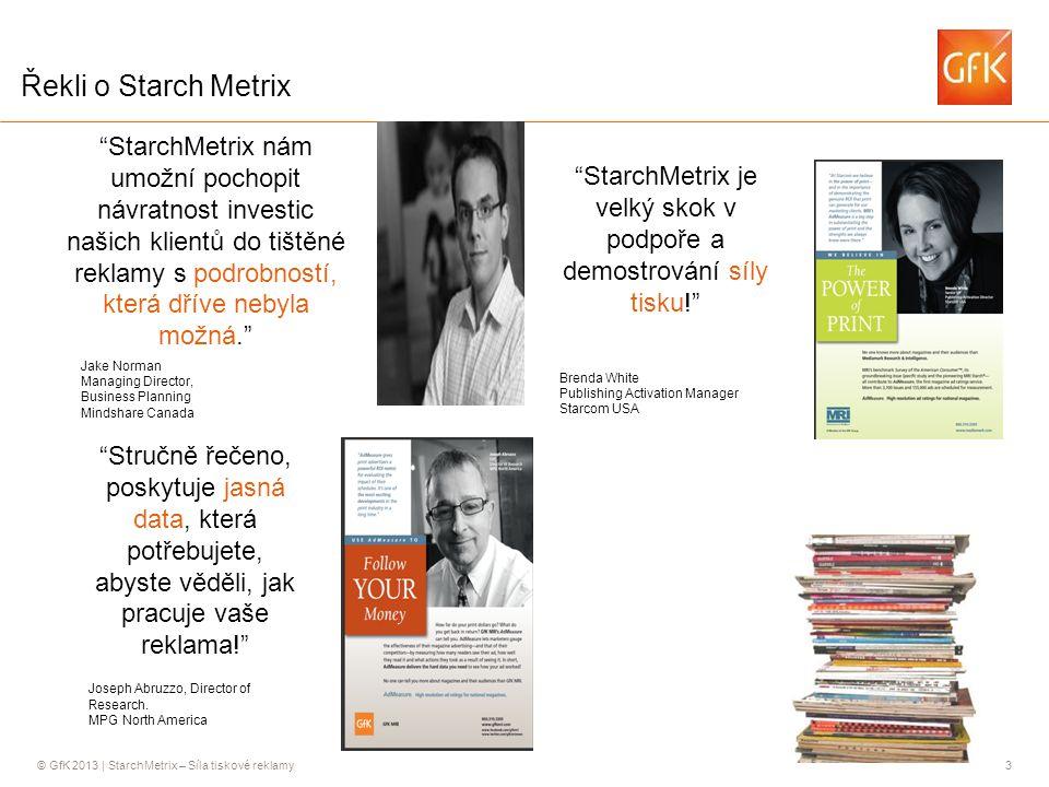 StarchMetrix je velký skok v podpoře a demostrování síly tisku!