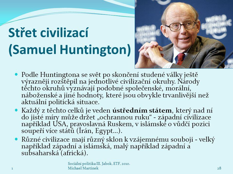 Střet civilizací (Samuel Huntington)