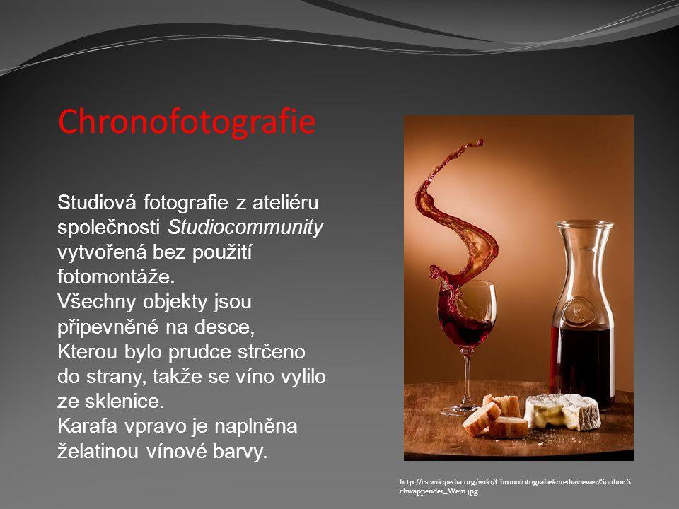 Chronofotografie Studiová fotografie z ateliéru společnosti Studiocommunity vytvořená bez použití