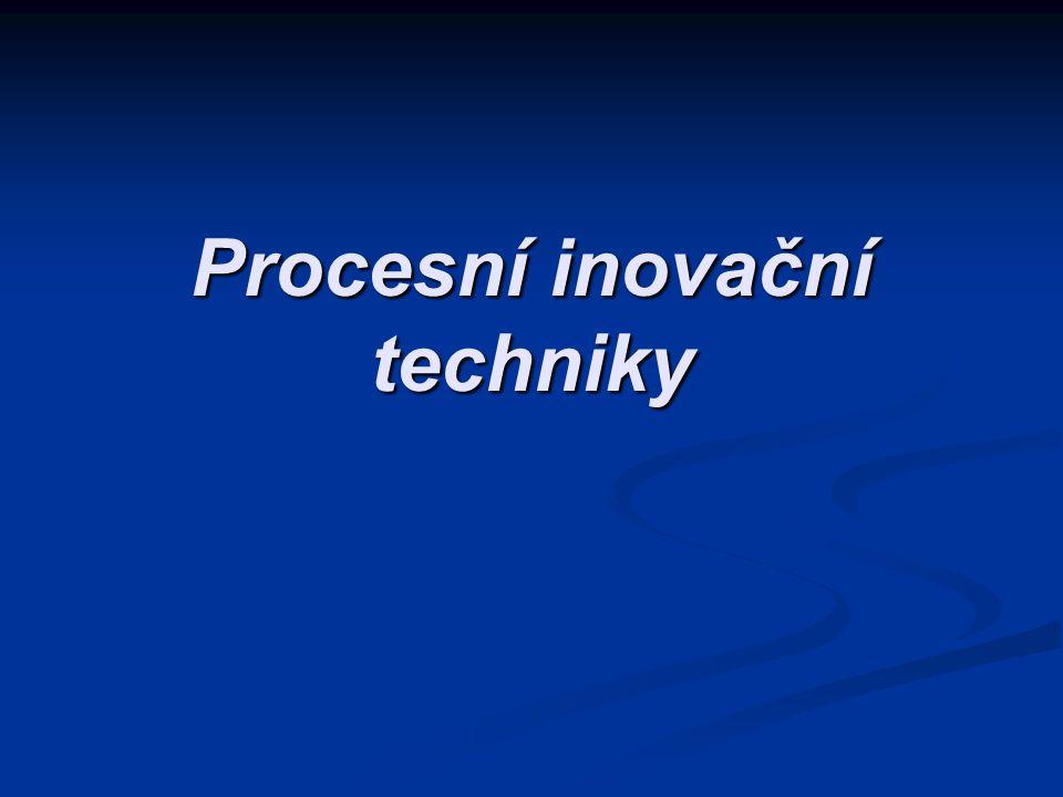 Procesní inovační techniky