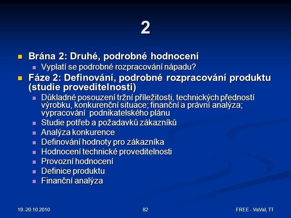 2 Brána 2: Druhé, podrobné hodnocení