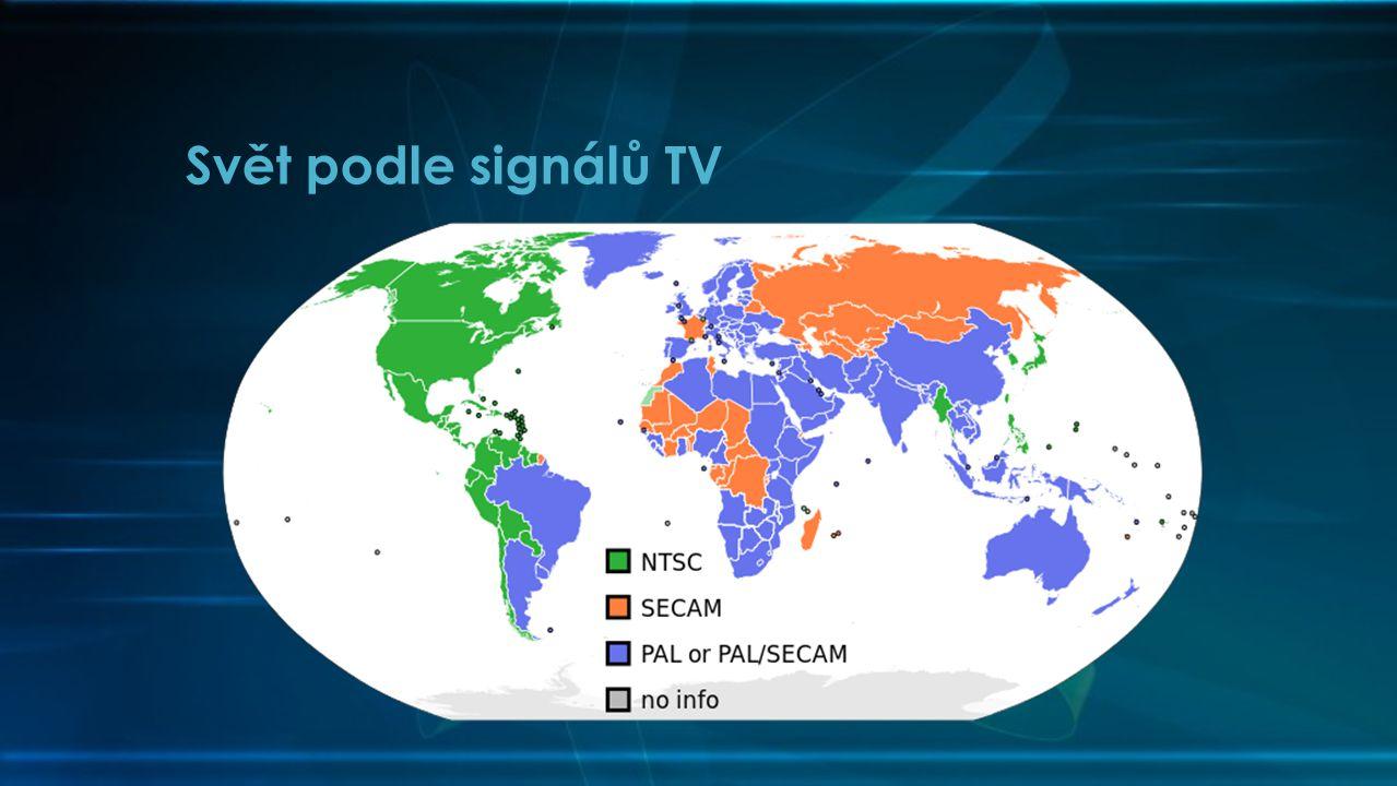 Svět podle signálů TV