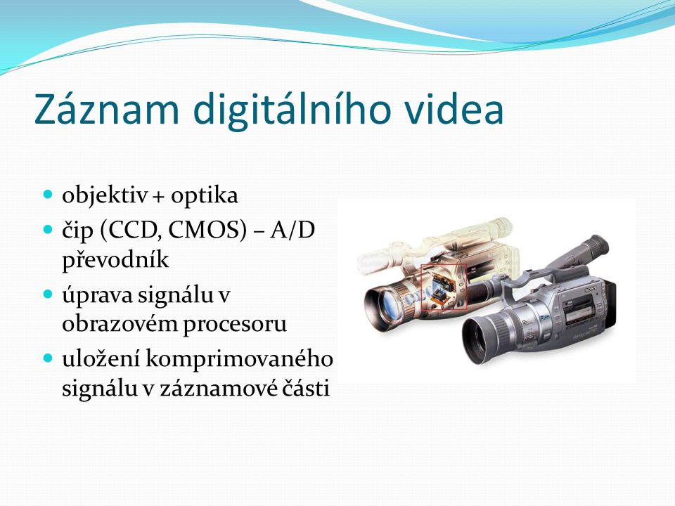 Záznam digitálního videa