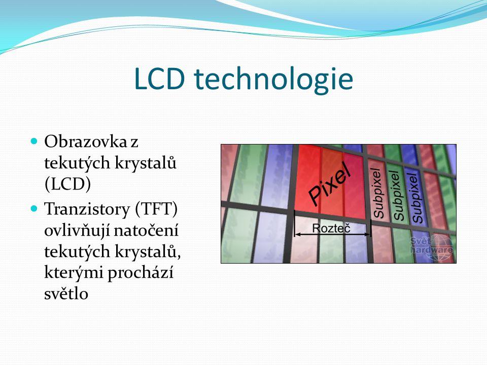 LCD technologie Obrazovka z tekutých krystalů (LCD)