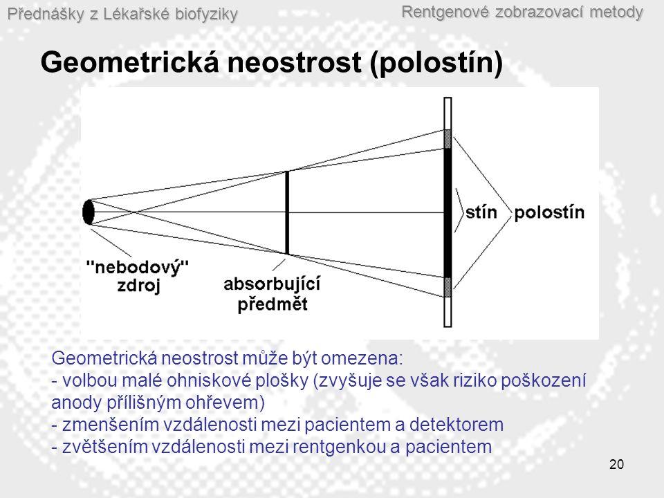 Geometrická neostrost (polostín)