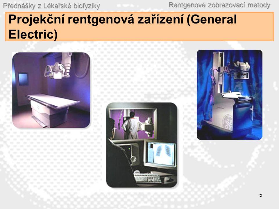 Projekční rentgenová zařízení (General Electric)